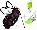 ASK ECHO Lightweight Golf Stand Bag with 14 Way Full Length Dividers and Pressure Putt Trainer Tool Gifts