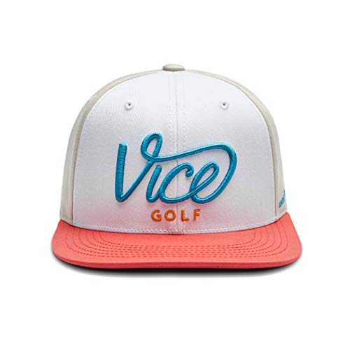 VICE Golf Crew Cap Colored 2.0 | Golf Cap | One Size fits All | Unisex