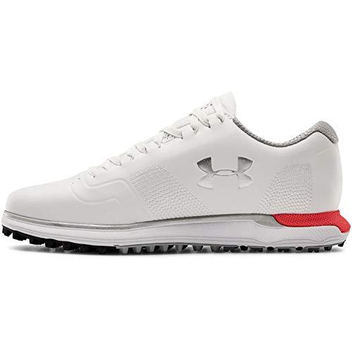 Under Armour Women's HOVR Fade Spikeless Golf Shoe, White (101)/Beta, 7