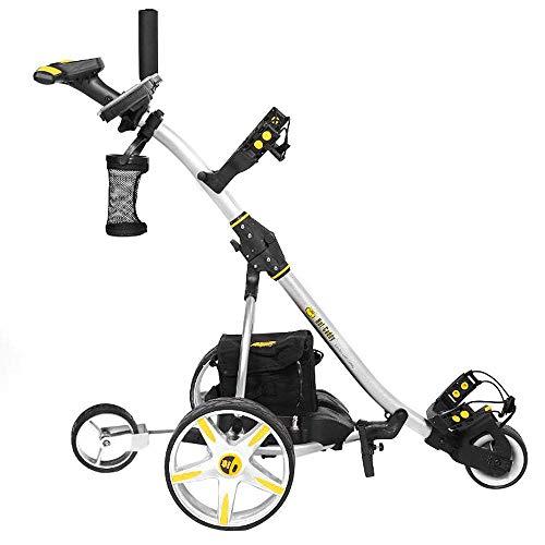 Bat-Caddy X3R Remote Control Cart w/ Free Accessory Kit, Silver, 20Ah Lithium
