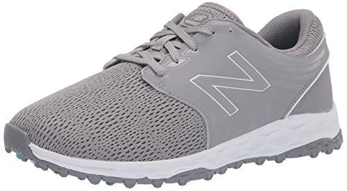 New Balance Women's Fresh Foam Breathe Golf Shoe, Grey, 8.5 Wide
