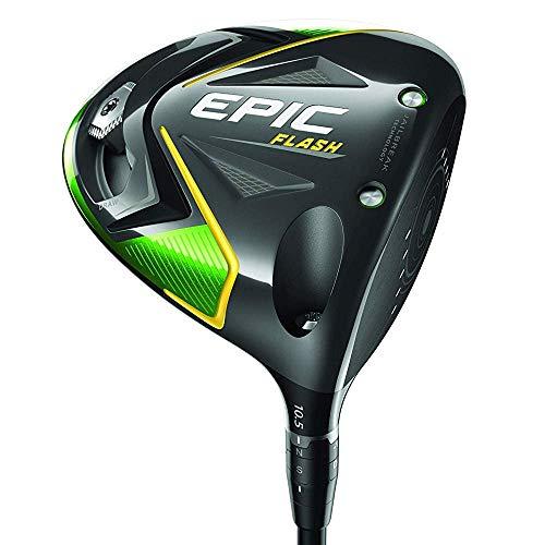 Callaway Golf 2019 Epic Flash Driver, Left Hand, Project X Even Flow Green, 50G, Stiff Flex, 9.0 Degrees , Black