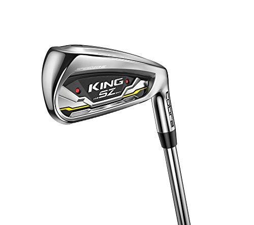 Cobra Golf 2020 Speedzone Iron Set (Men's, Right Hand, KBS Tour 90, Reg Flex, 5-GW)