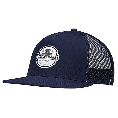 2021 Flatbill Trucker Hat, Navy