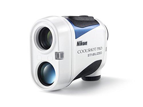 Nikon Coolshot Pro Stabilized Golf Rangefinder Standard Version White, Large