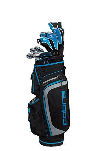 Cobra Golf 2019 XL Speed Complete Golf Set (Women's, Black-Blue, Right Hand, Graphite, Ladies Flex) (BX3824RGLCS13)