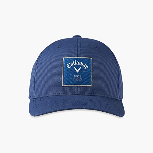 Callaway Rutherford Flexfit Snapback Hat, One Size, Navy