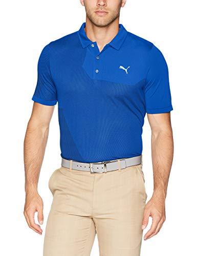 Puma Golf Men's 2018 Dassler Polo, Medium, Sodalite Blue