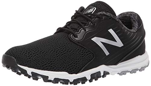 New Balance Women's Minimus SL Breathable Spikeless Comfort Golf Shoe, Black, 7