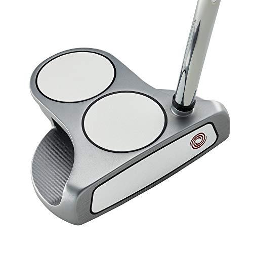 Callaway Odyssey Golf 2021 White Hot OG Putter (Right-Handed, 2 Ball, Steel, 35') , Silver