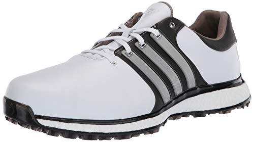 adidas Men's TOUR360 XT Spikeless Golf Shoe, FTWR White/Matte Silver/core Black, 12 Medium US