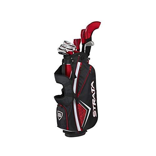 Callaway Golf Men's Strata Plus Complete Golf Set (14-Piece, Right Hand, Steel)
