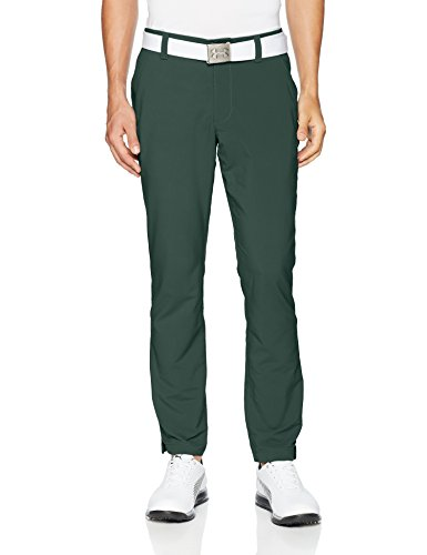 Under Armour Men's Match Play Golf Tapered Pants, Ivy (384)/Ivy, 38/34
