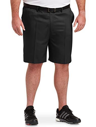 Amazon Essentials Men's Big & Tall Quick-Dry Golf Short fit by DXL, Black, 46