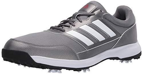 adidas Men's Tech Response 2.0 Golf Shoe, Grey, 11 Medium US