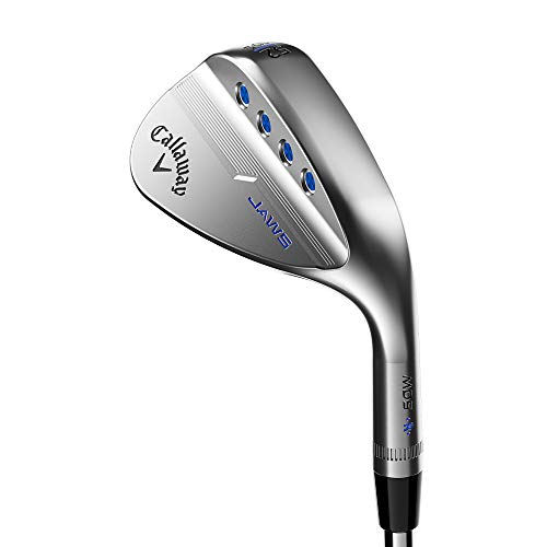 Callaway Mack Daddy 5 Jaws Wedge (Platinum Chrome, Right Hand, 56.0 degrees, S-Grind, 10 Bounce, Steel)