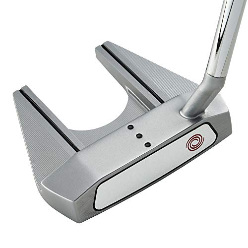 Callaway Odyssey Golf 2021 White Hot OG Putter (Left-Handed, Seven Slant Neck, Steel, 33') , Silver