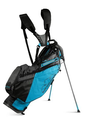 Sun Mountain Mens 2022 Golf Stand Carry 4.5LS 14-Way Divided Golf Bag - Ocean Black