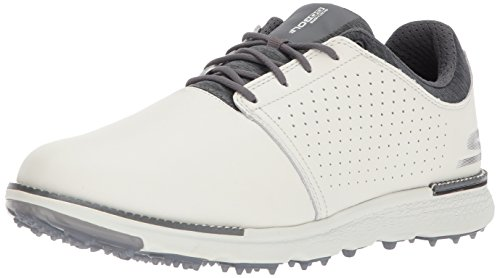 Skechers Performance Men's Go Golf Elite 3 Approach Lx Golf Shoe,Natural/Gray,8 M US