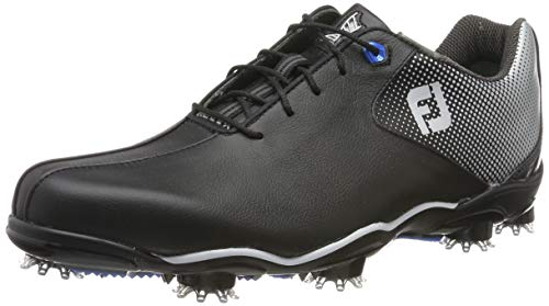 FootJoy Men's D.N.A. Helix-Previous Season Style Golf Shoes Black 9 M US