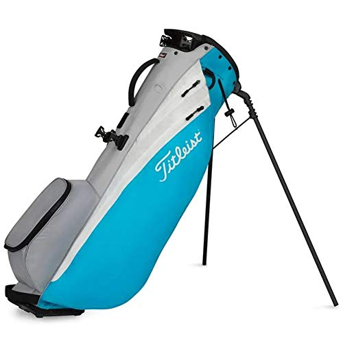Titleist Players 4 Carbon Stand Golf Bag Process Blue/White/Grey