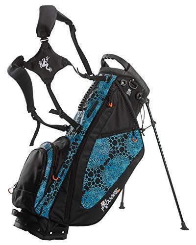 Frogger Golf Function Hybrid Carry Stand Bag (Blue/Black)