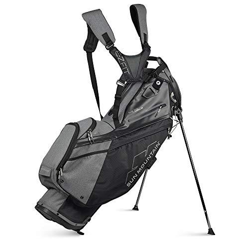 Sun Mountain 2021 4.5LS Golf Stand Bag (Black-Carbon)