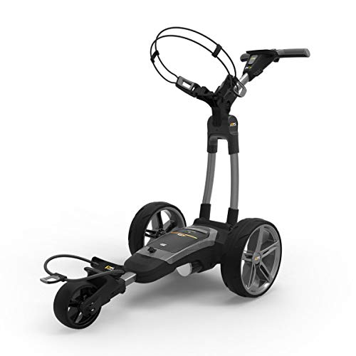 PowaKaddy FX7 Lithium Electric Golf Trolley (Standard 18 Hole Battery) Gunmetal– from in The Hole Golf