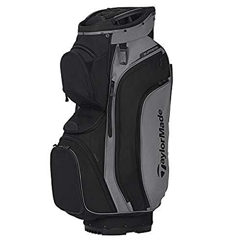 TaylorMade Supreme Cart Bag, Grey Dark/Black