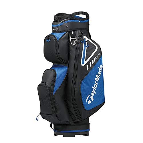 TaylorMade 2019 Golf Select Cart Bag, Black/Blue