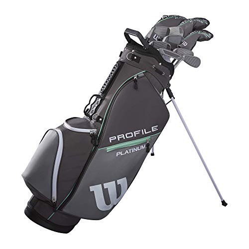 Wilson Golf Profile Platinum Packageset, Women's Right Handed, Carry