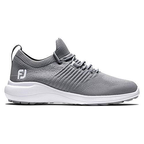FootJoy Women's FJ Flex XP Golf Shoe, Light Grey, 5.5