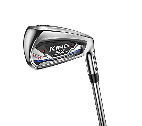 Cobra Golf 2020 Speedzone One Length Iron Set (Men's, Right Hand, KBS Tour 80-90-Wedge, Stiff Flex, 5-GW)