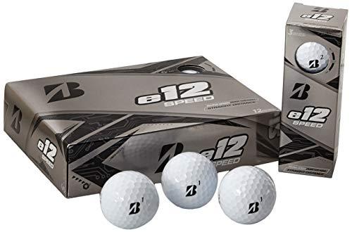 Bridgestone Golf E12 Speed Golf Balls, White (One Dozen)