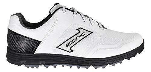 Etonic Stabilite Sport Spikeless Golf Shoes White/Black/Black Size 12 Medium