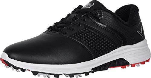 Callaway mens Solana Trx Golf Shoe, Black, 8.5 Wide US