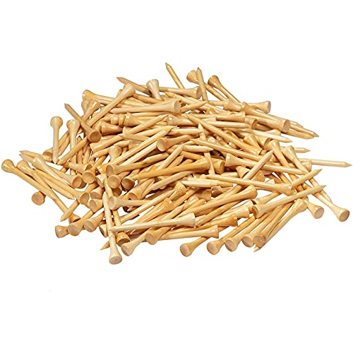 Juvale Golf Tees, Wood Bamboo (2.75 in, 300 Pack)