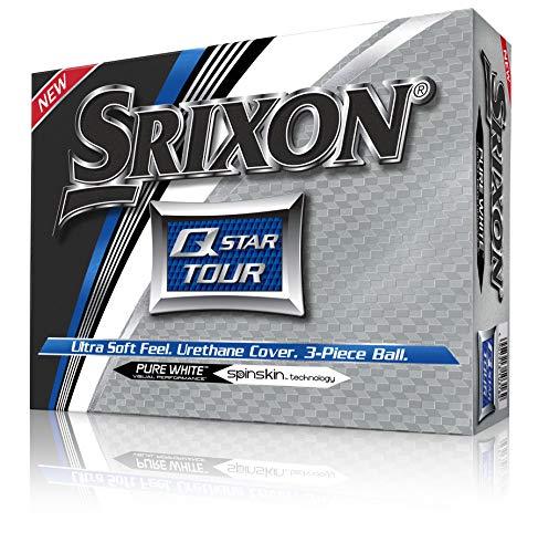 Srixon Q-Star Tour Golf Balls, White (One Dozen)