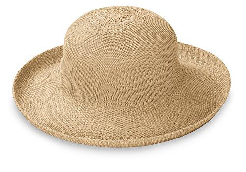 Petite Victoria Sun Hat – Ultra-Lightweight, Broad Brim, Petite Style, Tan