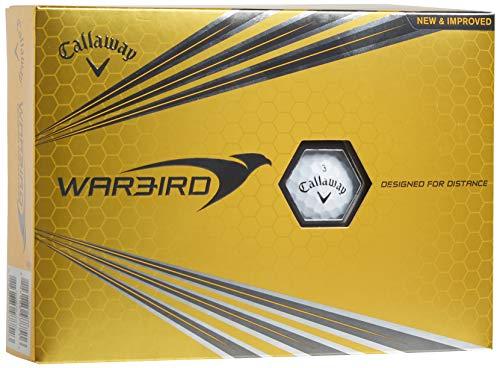 Callaway Warbird Golf Ball, Prior Generation, (One Dozen), White, Prior Generation