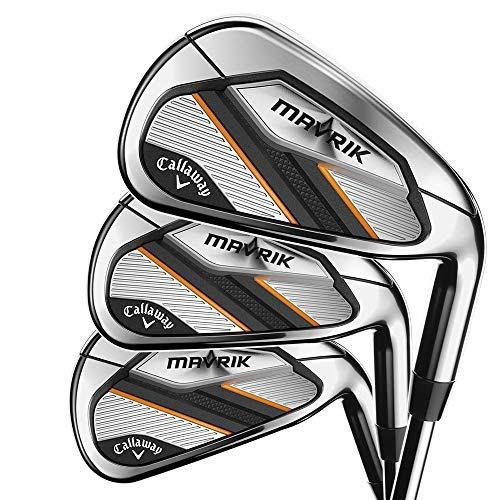 Callaway Golf 2020 Mavrik Iron Set (Set of 7 Clubs: 5 Iron - PW, AW, Right Hand, Steel, Regular)