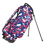 Lightweight Golf Stand Bag - Easy to Carry & Durable Pitch Golf Bag – Golf Sunday Bag Ideal for Golf Course & Travel,B