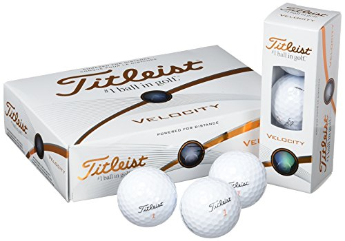 Titleist Velocity - Standard Golf Balls (Polyurethane)