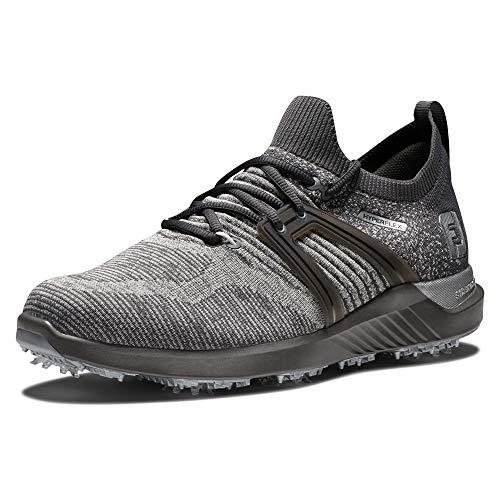 FootJoy Men's Hyperflex Golf Shoe, Charcoal/Grey, 9