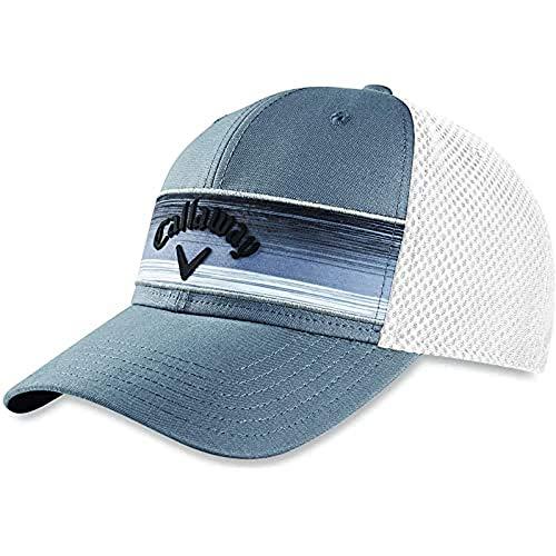 Callaway Golf 2020 Stripe Mesh Adjustable Hat Grey