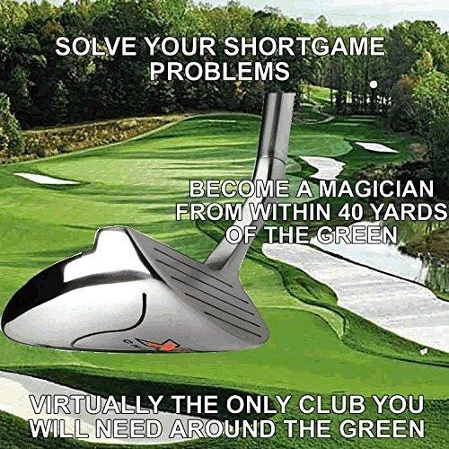 Black Magic #1 Stroke Saver Chipper Hybrid Putter Chipping Wedge Custom Golf Club (right)