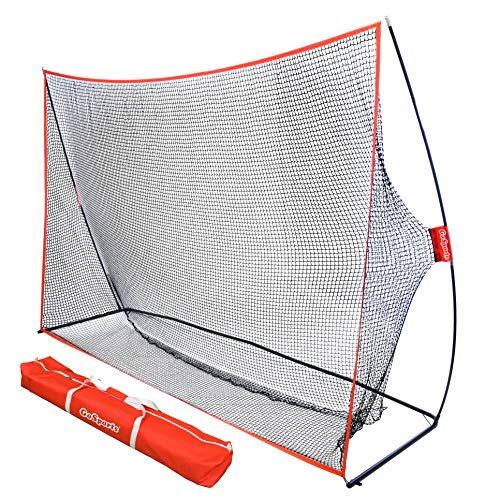 GoSports Golf Practice Hitting Net   Huge 10 x 7feet Personal Driving Range For Indoor or Outdoor Use   Designed By Golfers for Golfers