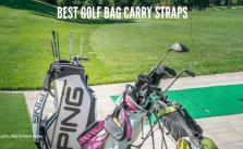 Best Golf Bag Carry Straps