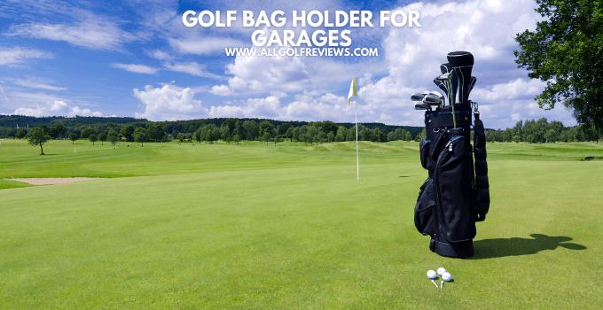 Golf Bag Holder For Garage