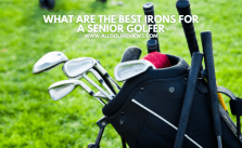 What Are The Best Irons For A Senior Golfer